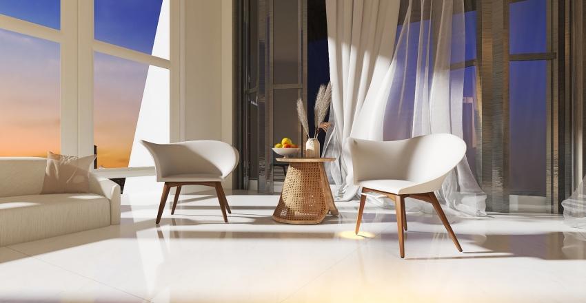 Lux Penthouse Suite Interior Design Render