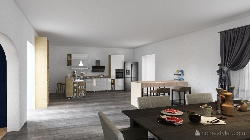 house 2.0 Interior Design Render