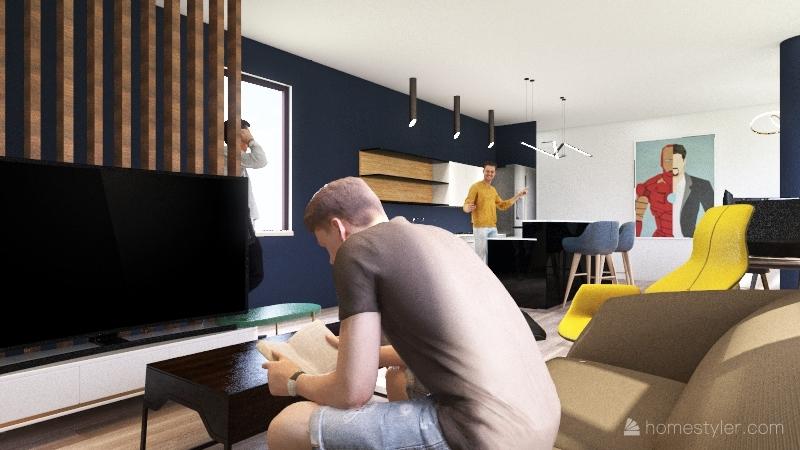 San Jorge Pre-new Interior Design Render