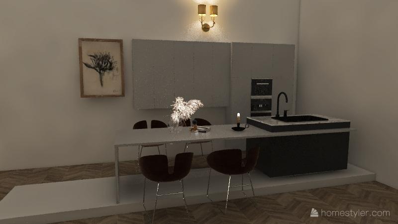 The Deconde Family Household Interior Design Render