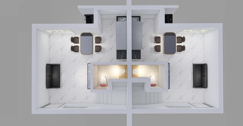Casita espejito Interior Design Render