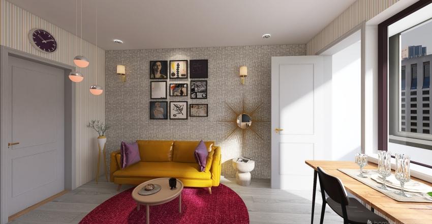 Zálesí final 1 Interior Design Render