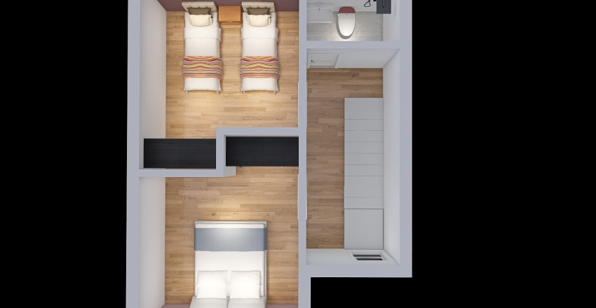 Copy of Casita espejito 1 Interior Design Render