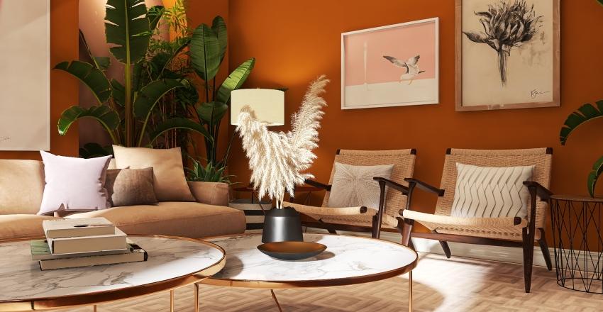 """#HSDA2020Residential """"The Love Letter"""" Living Room Interior Design Render"""