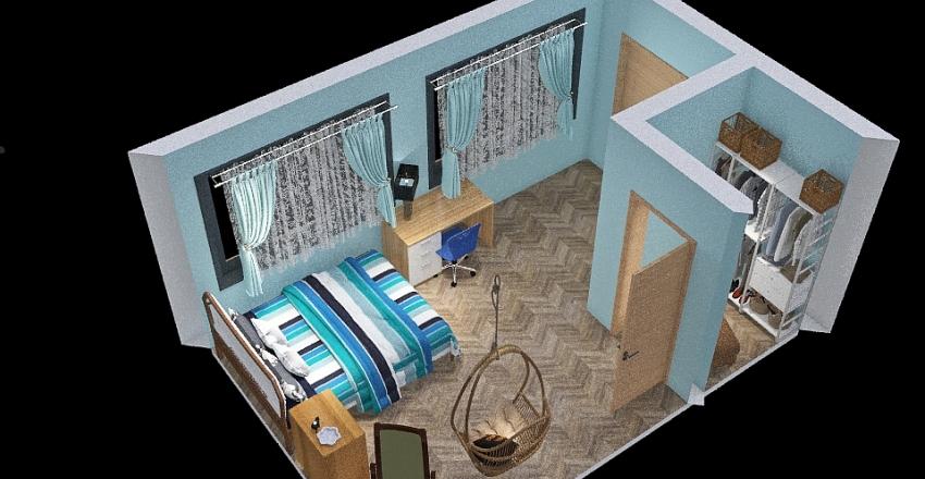 Litvin Dream Bedroom Interior Design Render