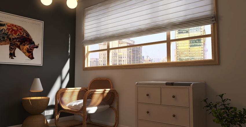 Baby room in London Interior Design Render