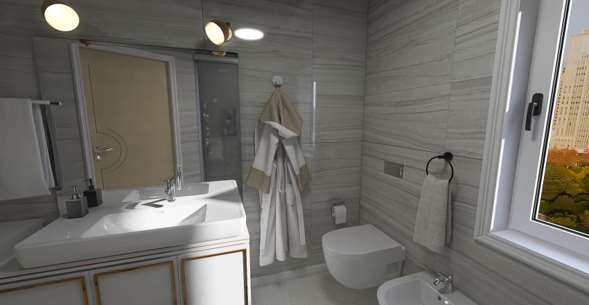 little apartment Interior Design Render