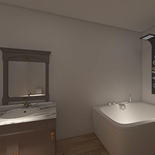 kitchen dining room Interior Design Render