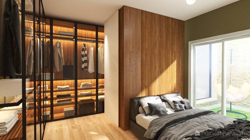 Suíte Master 2 opção Interior Design Render