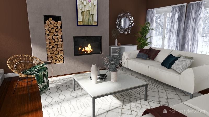 unique Interior Design Render