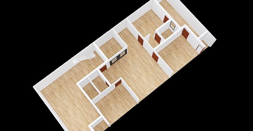 Copy of Pinjore. 5-10 inch wall back 8 Interior Design Render
