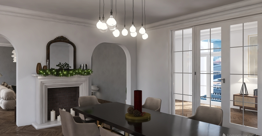paris Interior Design Render