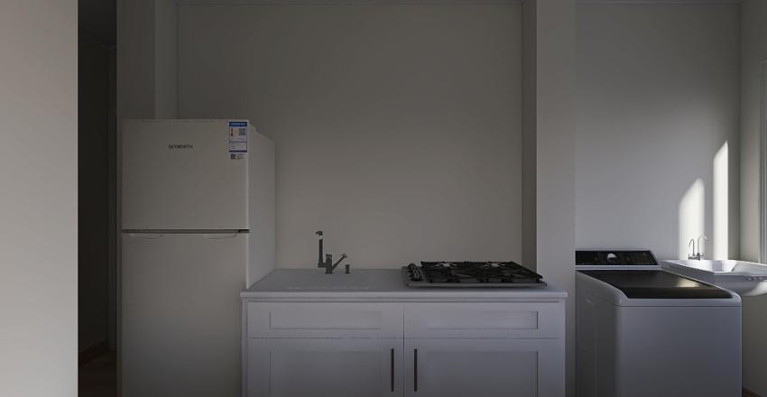 Projeto Sala/Cozinha apê 207 Interior Design Render