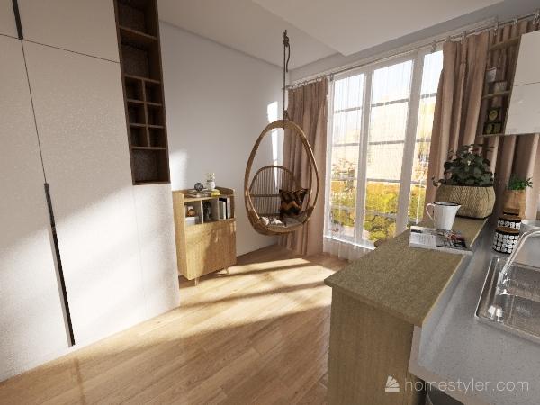 Cozy family appartment Interior Design Render