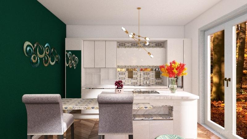 ACONCHEGO Interior Design Render