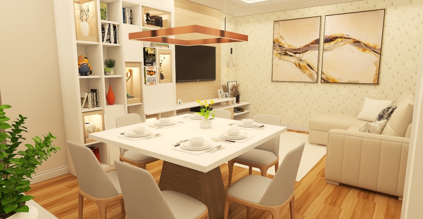 Aline Braga - UPK Interior Design Render