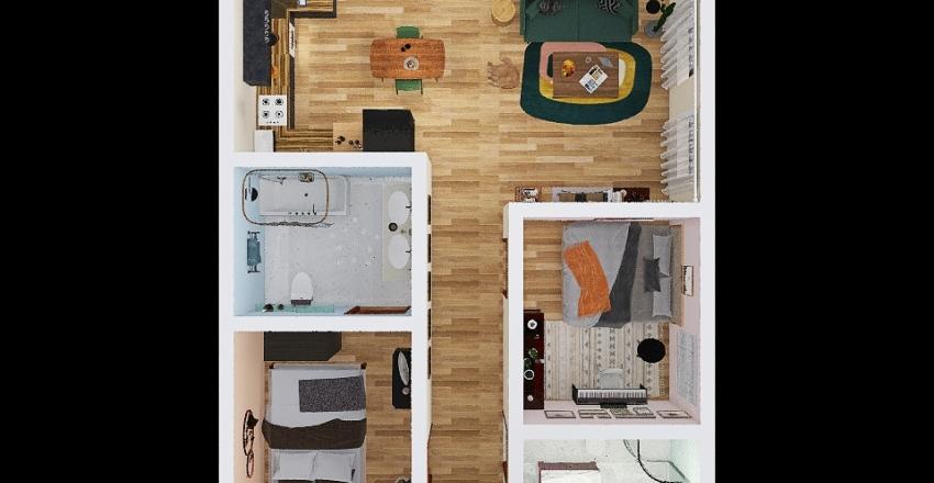 appartment project Interior Design Render
