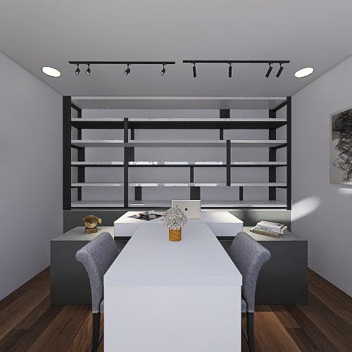 shop-1 Interior Design Render