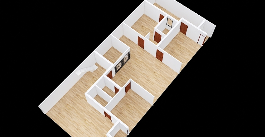 toilet off Pinjore. 5-10 inch wall back 8 Interior Design Render