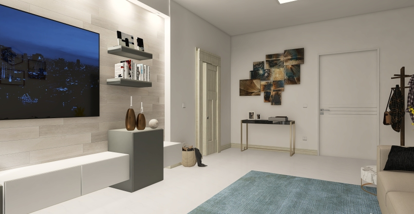 Sirmione - Via IV Novembre Interior Design Render