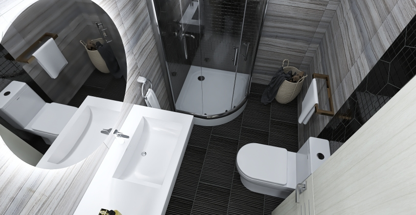 Flat Anastacia Interior Design Render