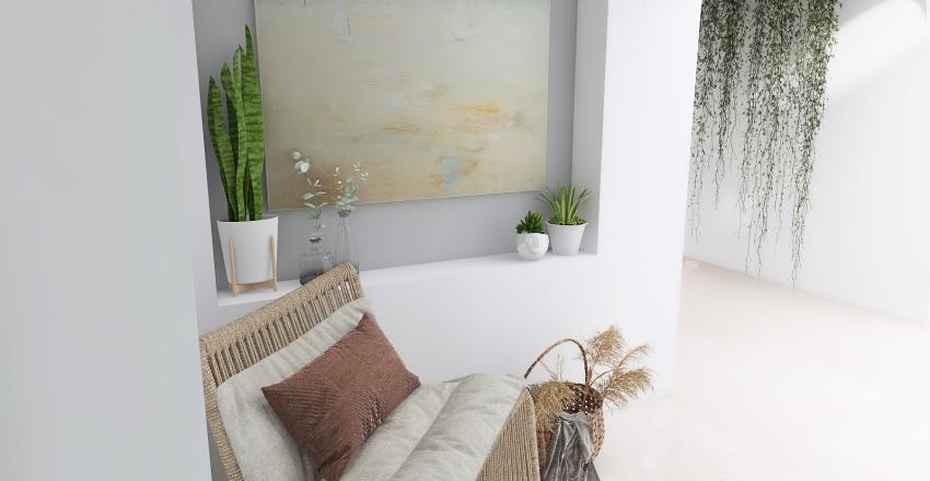 boho greece air bnb.  Interior Design Render