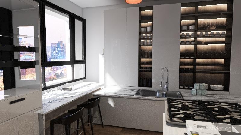 Luxury Style House Interior Design Render
