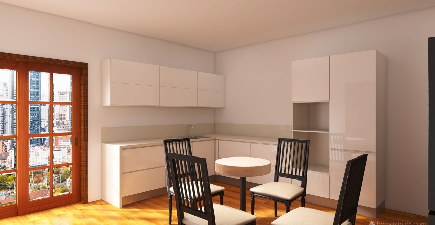 Yoni's Dreamhome Interior Design Render