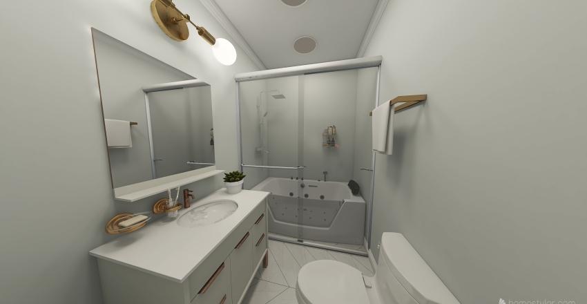 Cozy Modern Apartment Interior Design Render