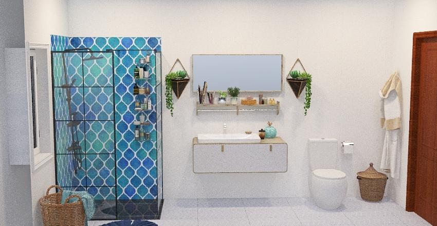 Reforma baño 1 Interior Design Render