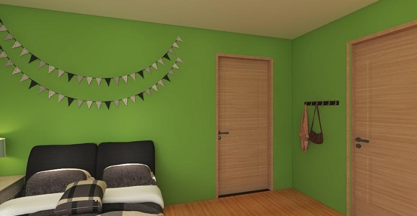 The bedroom!  Interior Design Render