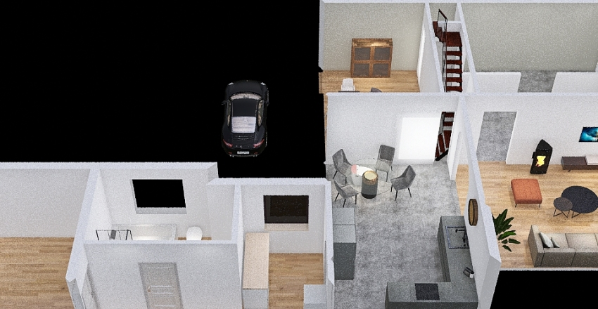 Baudour Interior Design Render