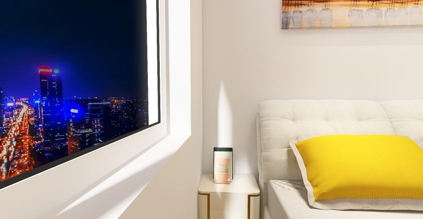 Yellow Apartment Prosperity Interior Design Render