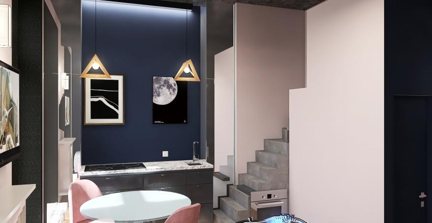 винтовая лестница Interior Design Render