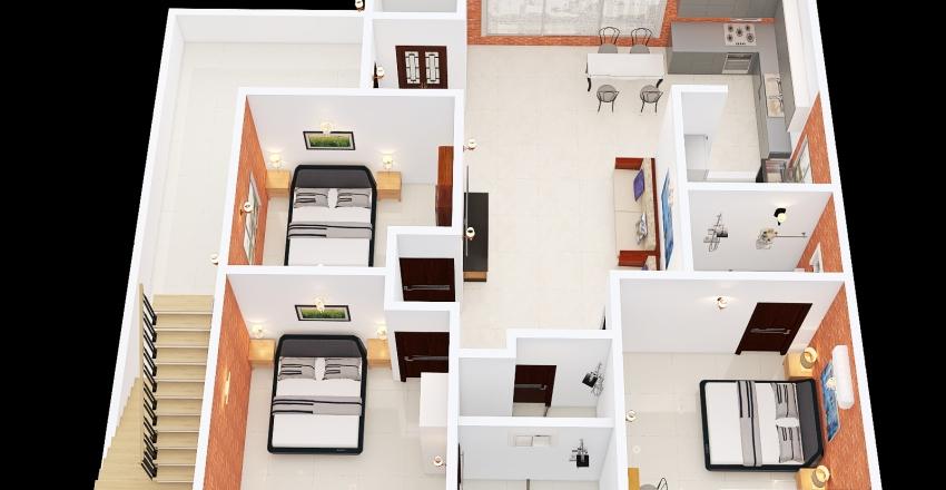 Plan GF-15.0 Interior Design Render