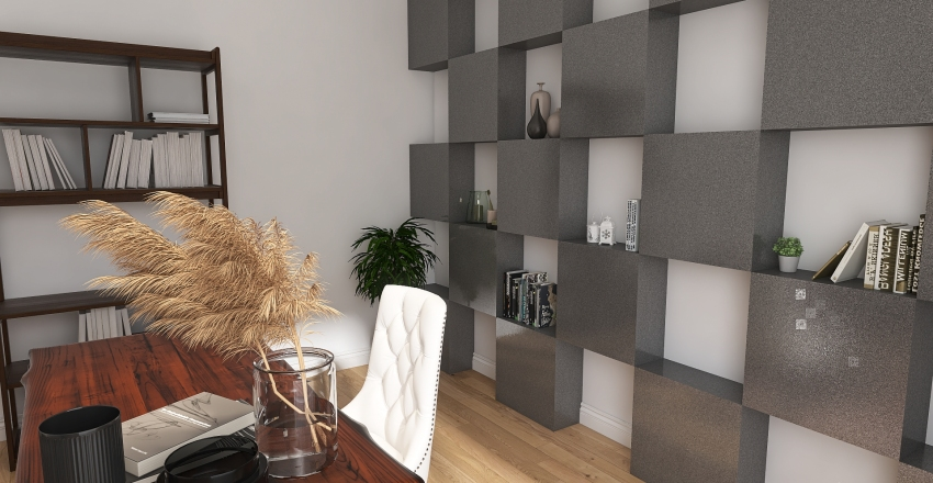 Office Interior Design Render