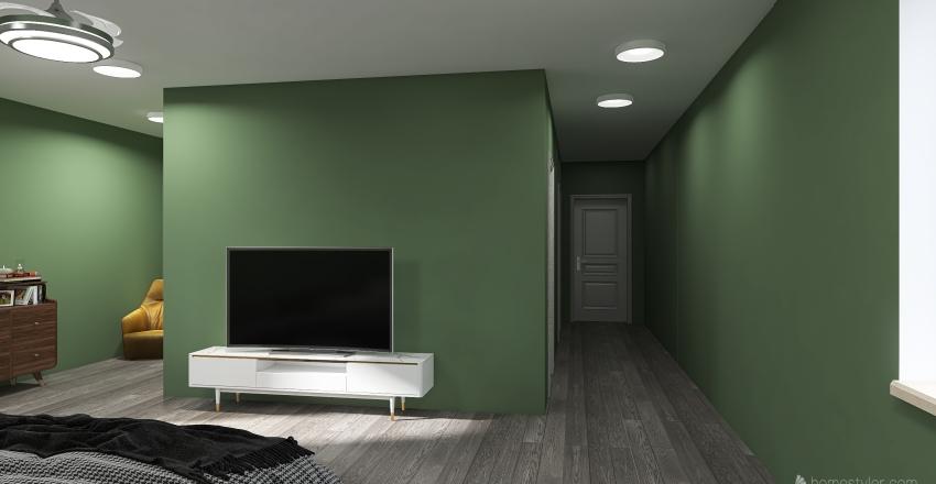 Kyle's Dream House Top Floor (Floor 2) Interior Design Render