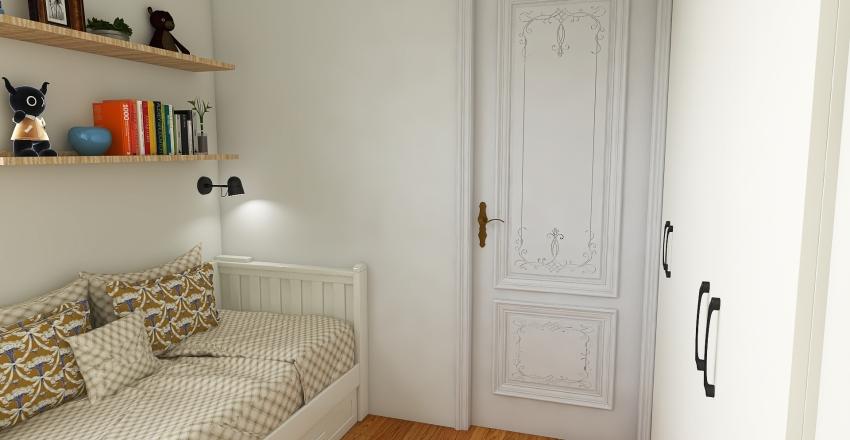 dormitorio julia Interior Design Render