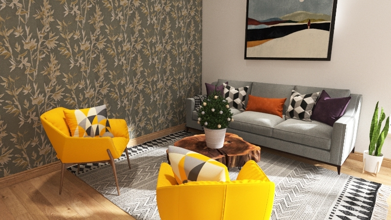 Den Interior Design Render