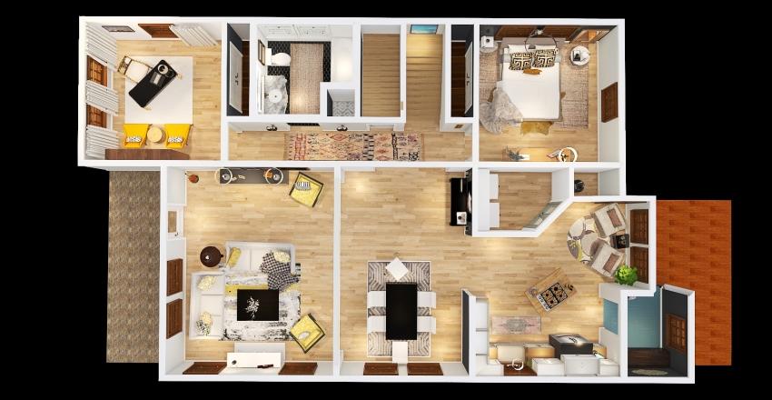 716 10th Interior Design Render