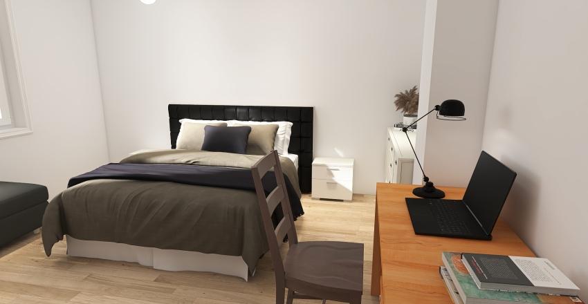 Markova soba Interior Design Render