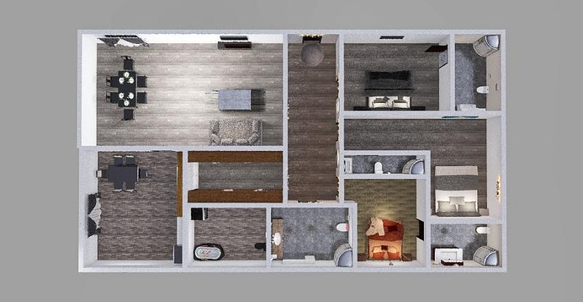 Salome Fruidze Interior Design Render