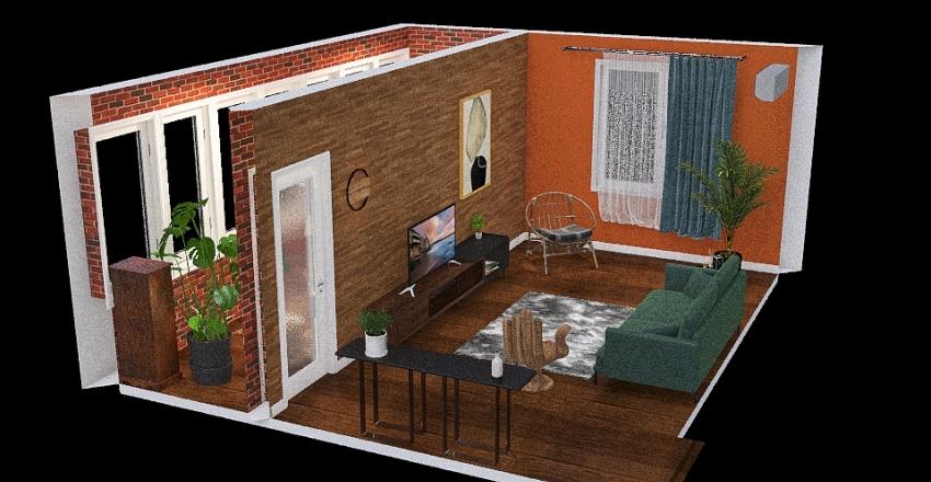 Copy of Copy of квартира мечты Interior Design Render