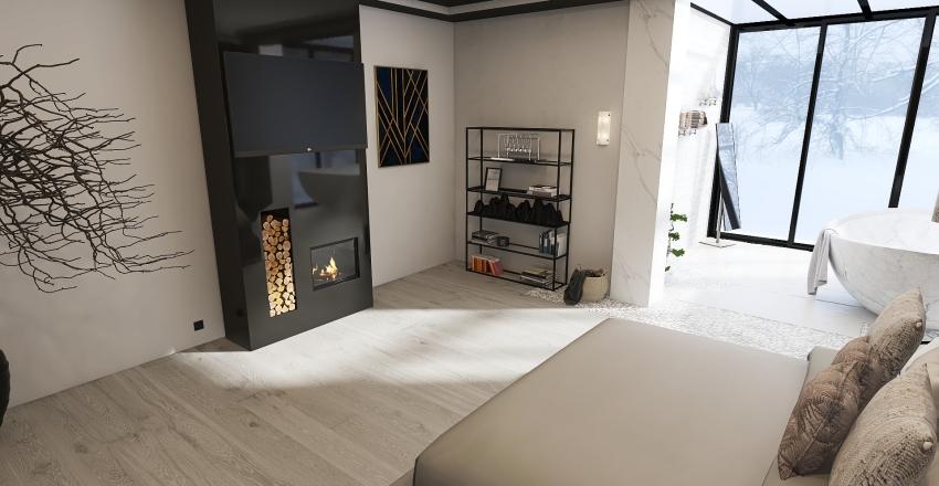 Modern Appartement Interior Design Render