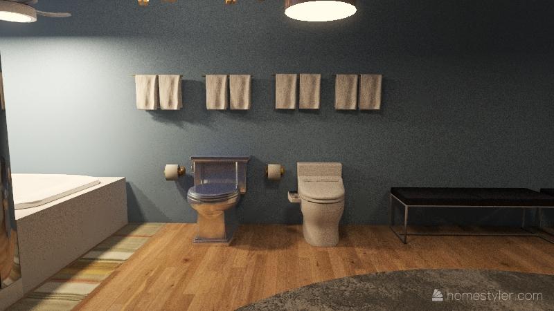 Kenny Master House Interior Design Render