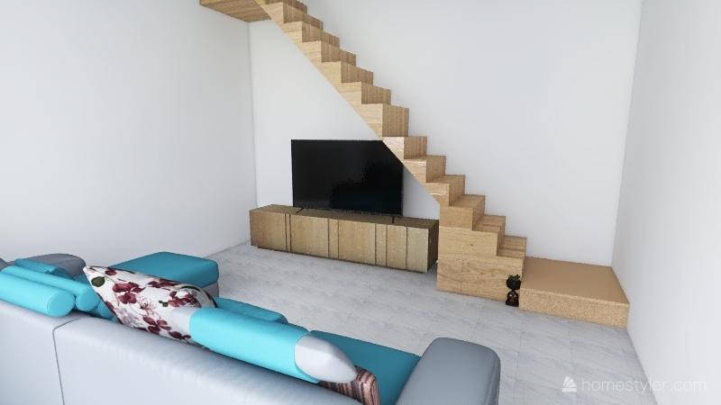 Simple Interior Design Render