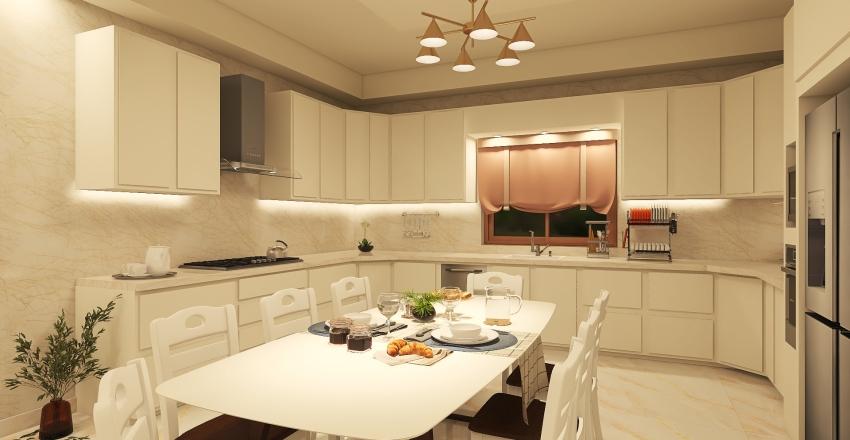 Villa 3 - Ground Floor Interior Design Render