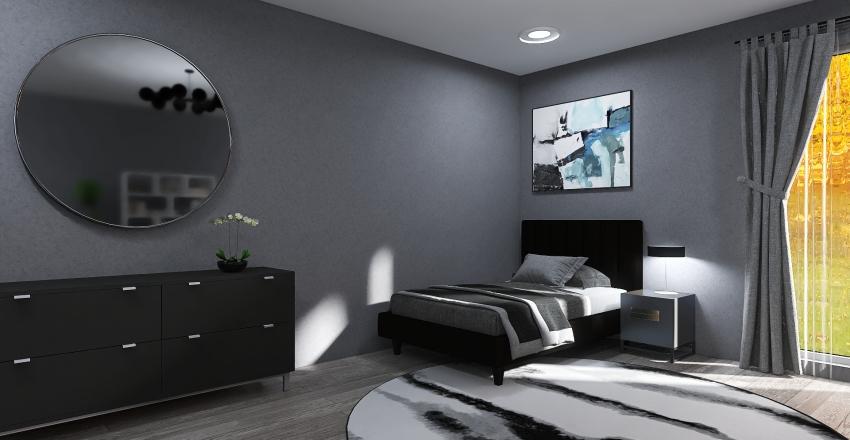 Something Gray Interior Design Render