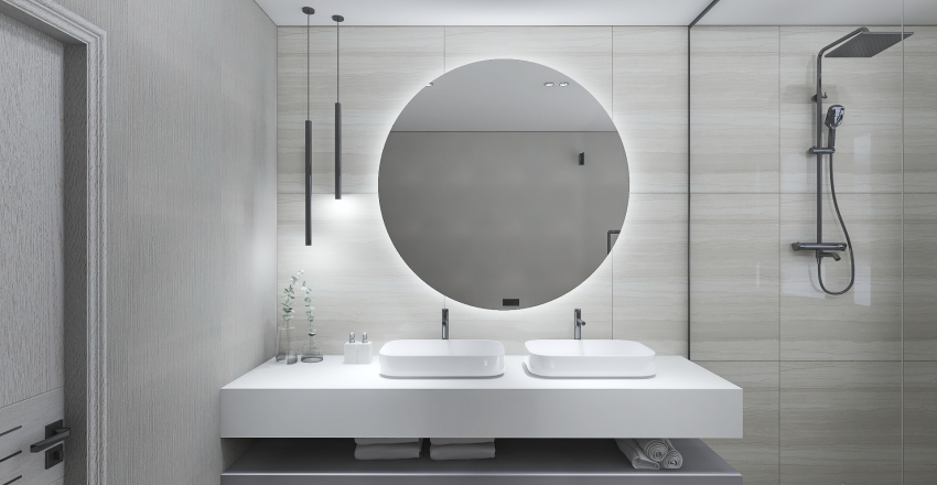 BATHROOM W Interior Design Render
