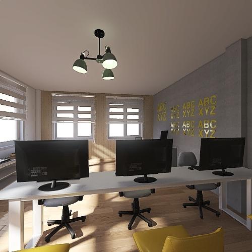 Quarto de Duda Interior Design Render
